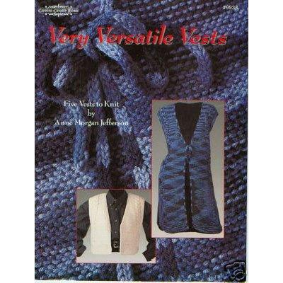 Knit Very Versatile Vests Booklet