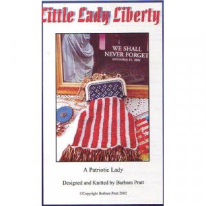 CR3265 - 2 - A Patriotic Lady Knitted Purse