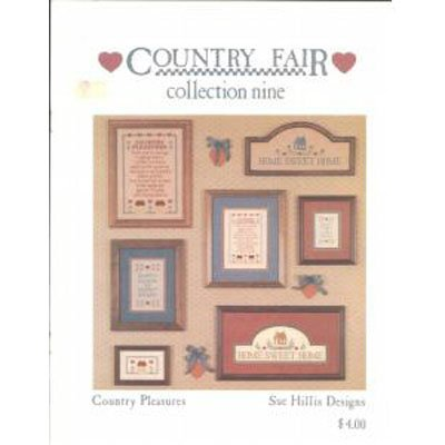 Collection Nine Country Pleasures for Cross Stitchers