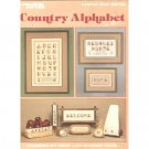 Country Alphabet Crosstitch Pattern by Anne Van Wagner Young