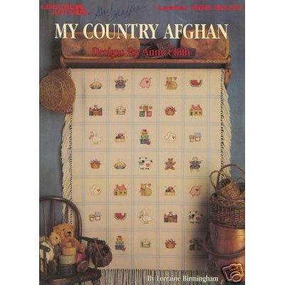 My Country Afghan Cross Stitch Pattern