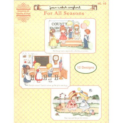For All Seasons Cross Stitch Pattern Leaflet