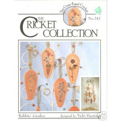 Cricket Collection - Rabbits' Garden Cross Stitch Pattern