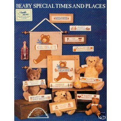 Beary Special Times & Places - Cross Stitch