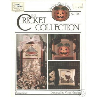 NEW ! Cricket Collection - Seasonings  Cross Stitch Pattern