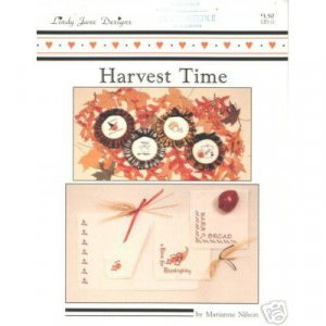 Harvest Time Cross Stitch Pattern