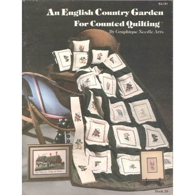 An English Country Garden - Cross Stitch Pattern Leaflet