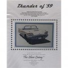New!! Thunder of '59 - Cross Stitch Pattern