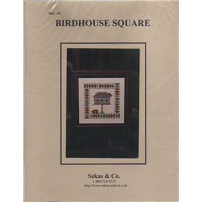 New !! BirdHouse Square - Cross Stitch Pattern