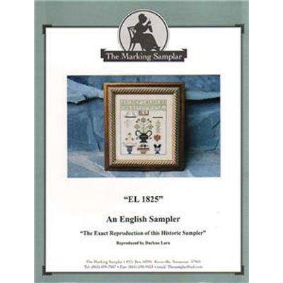 NEW!! An English Sampler - Cross Stitch Pattern