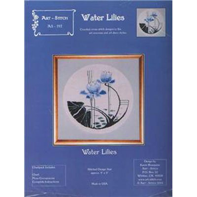 NEW!!  Water Lilies - Cross Stitch Pattern