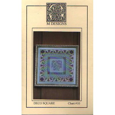NEW !! Deco Square - A Cross Stitch Pattern