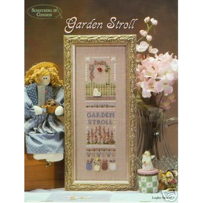 Garden Stroll Cross Stitch Pattern