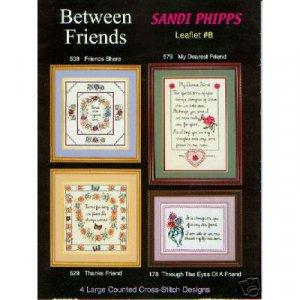 Between Friends Cross Stitch Pattern
