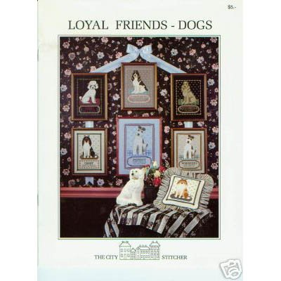 Loyal Friends - Dogs Cross Stitch Patterns