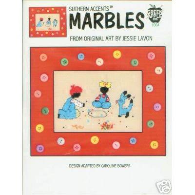 Marbles Cross Stitch Pattern