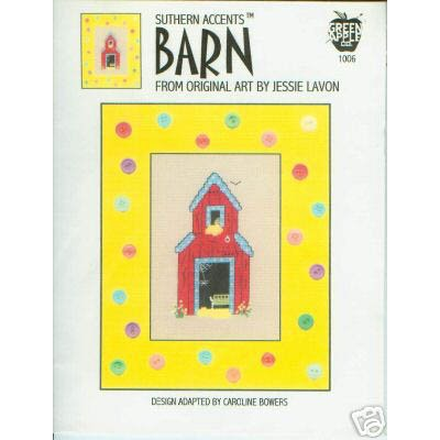 Barn Cross Stitch Pattern
