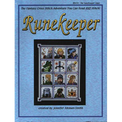 NEW Runekeeper - Cross Stitch Pattern