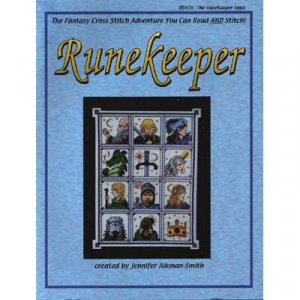 NEW Runekeeper - Cross Stitch Pattern