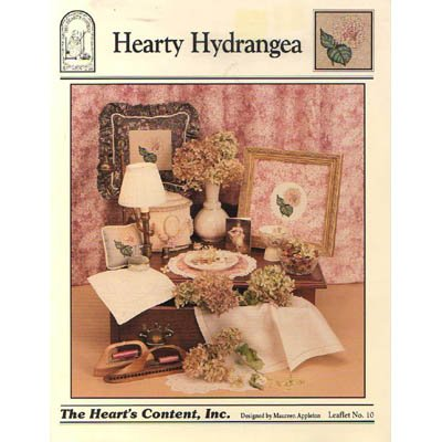 NEW Hearty Hydrangea - Cross Stitch Pattern