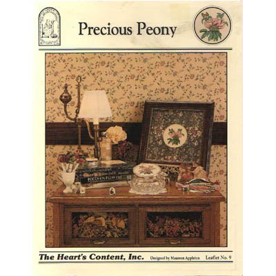 NEW Precious Peony - Cross Stitch Pattern