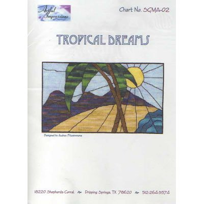 NEW !! Tropical Dreams - A Cross Stitch Pattern