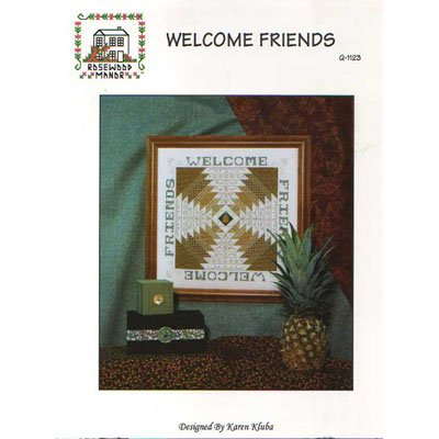 NEW !! Welcome Friends - A Cross Stitch Pattern