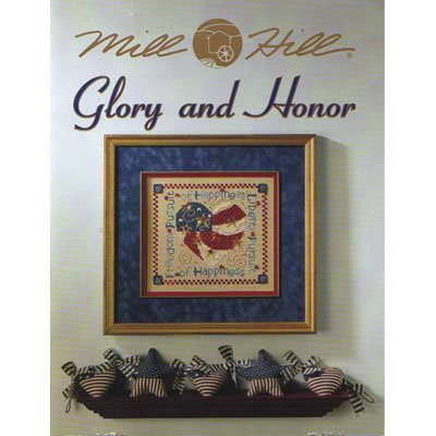 NEW !! Glory and Honor - A Cross Stitch Pattern