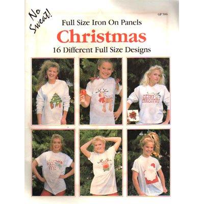 Full Size Iron On Panels Christmas Booklet