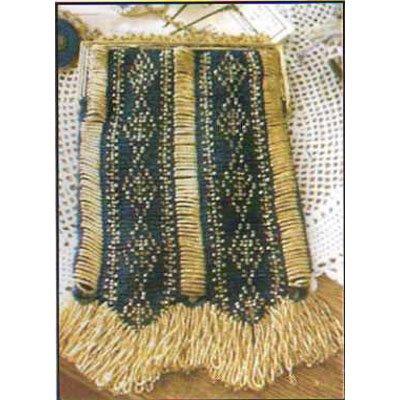 Celeste A Beaded Knit Purse Pattern NEW