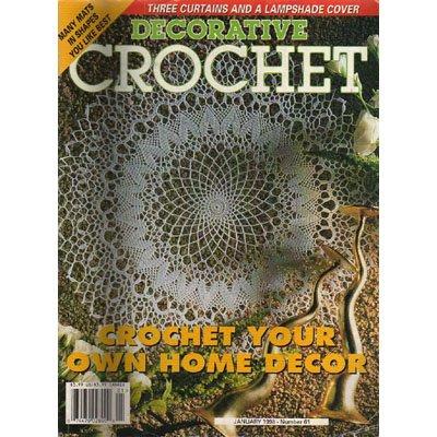 Decorative Crochet Magazine January 1998