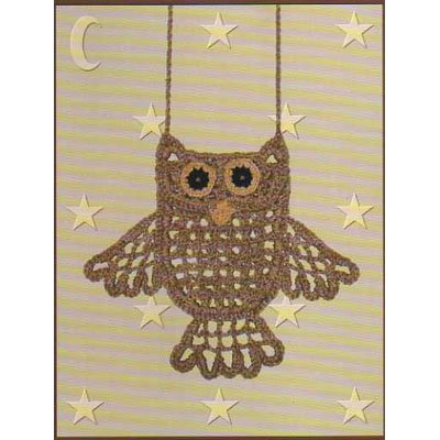 Owl Pocket Necklace Pattern