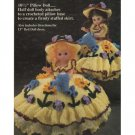 Mary Quite Contrary Pillow Doll Crochet Pattern