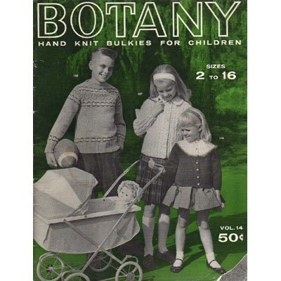 Botany Hand Knit Bulkies For Children  Knitting