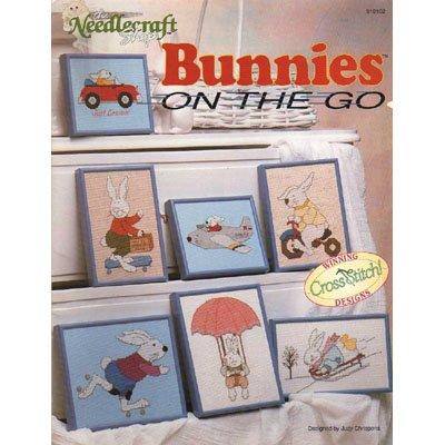 Bunnies On The Go  Cross Stitch Designs