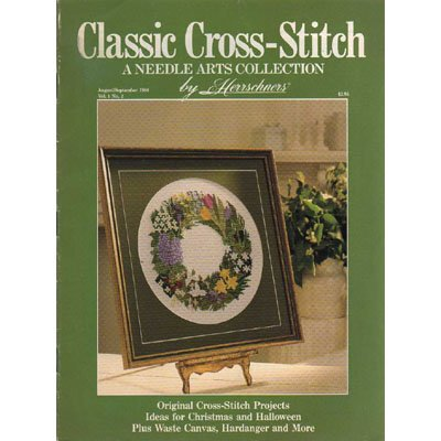 Classic Cross-Stitch Magazine Aug-Sept 1988