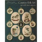 Country Folk Art Cross Stitch Patterns