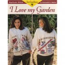 I Love My Garden Duplicate Stitch Pattern