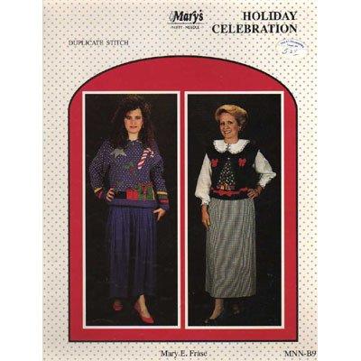 Holiday Celebration Duplicate Stitch Pattern