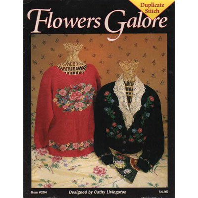Flowers Galore in Duplicate Stitch Patterns