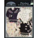 Floralace in Duplicate Stitch Patterns