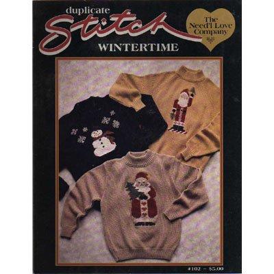 Duplicate Stitch Wintertime Pattern