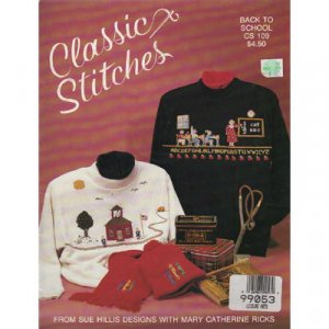 Classic Stitches Back To School Pattern