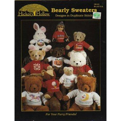 Bearly Sweaters Designs in Duplicate Stitch