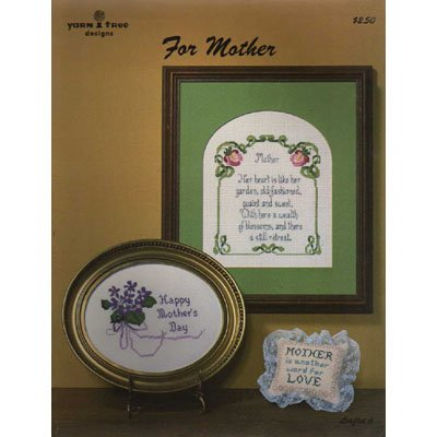 For Mother Cross Stitch Pattern Leaflet