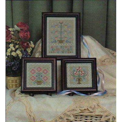 Mini Sampler Trio Cross Stitch Patterns