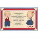 I Pledge Allegiance Cross Stitch Patterns
