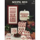Seeing Red Cross Stitch Patterns