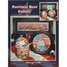 Patriotic Bear Family Cross Stitch Patterns