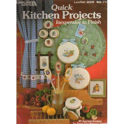 Quick Kitchen Projects Cross Stitch Patterns